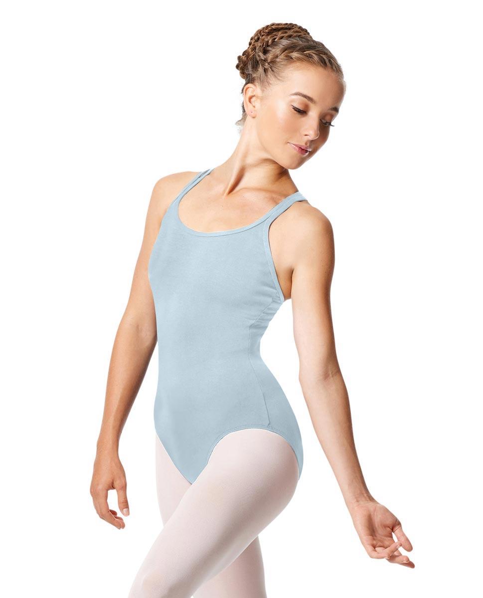 Womens Strappy Camisole Ballet Leotard Larissa SKY