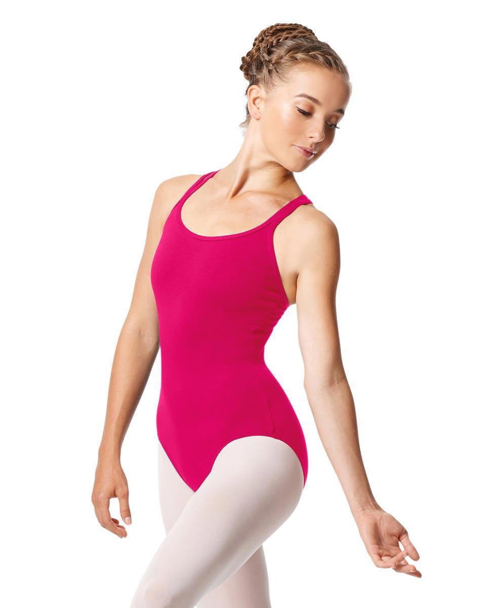 Womens Strappy Camisole Ballet Leotard Larissa RAS