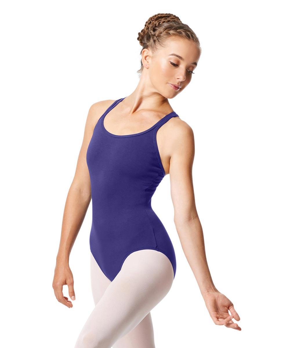 Womens Strappy Camisole Ballet Leotard Larissa ROY