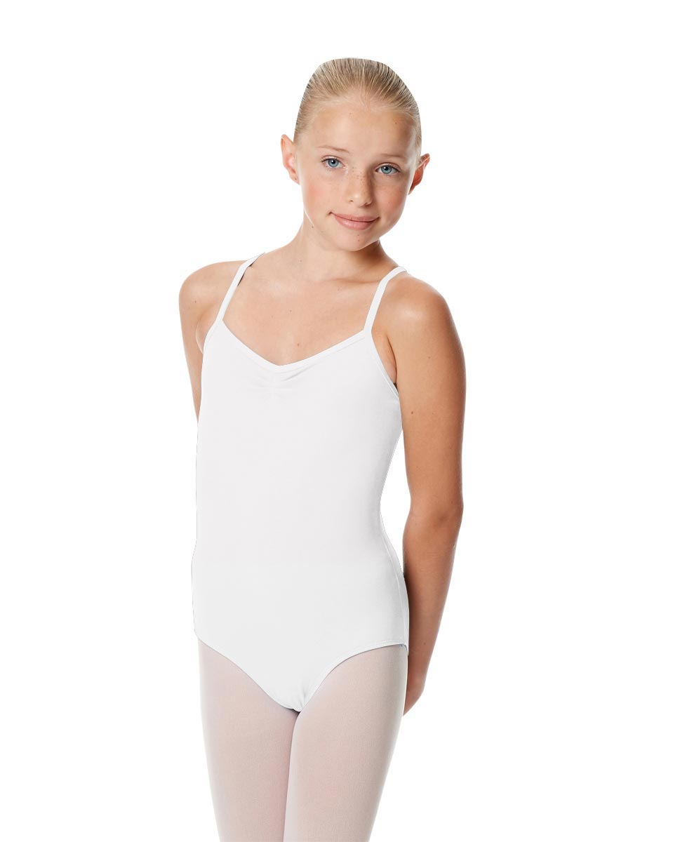 Child X Back Dance Leotard Jane WHI