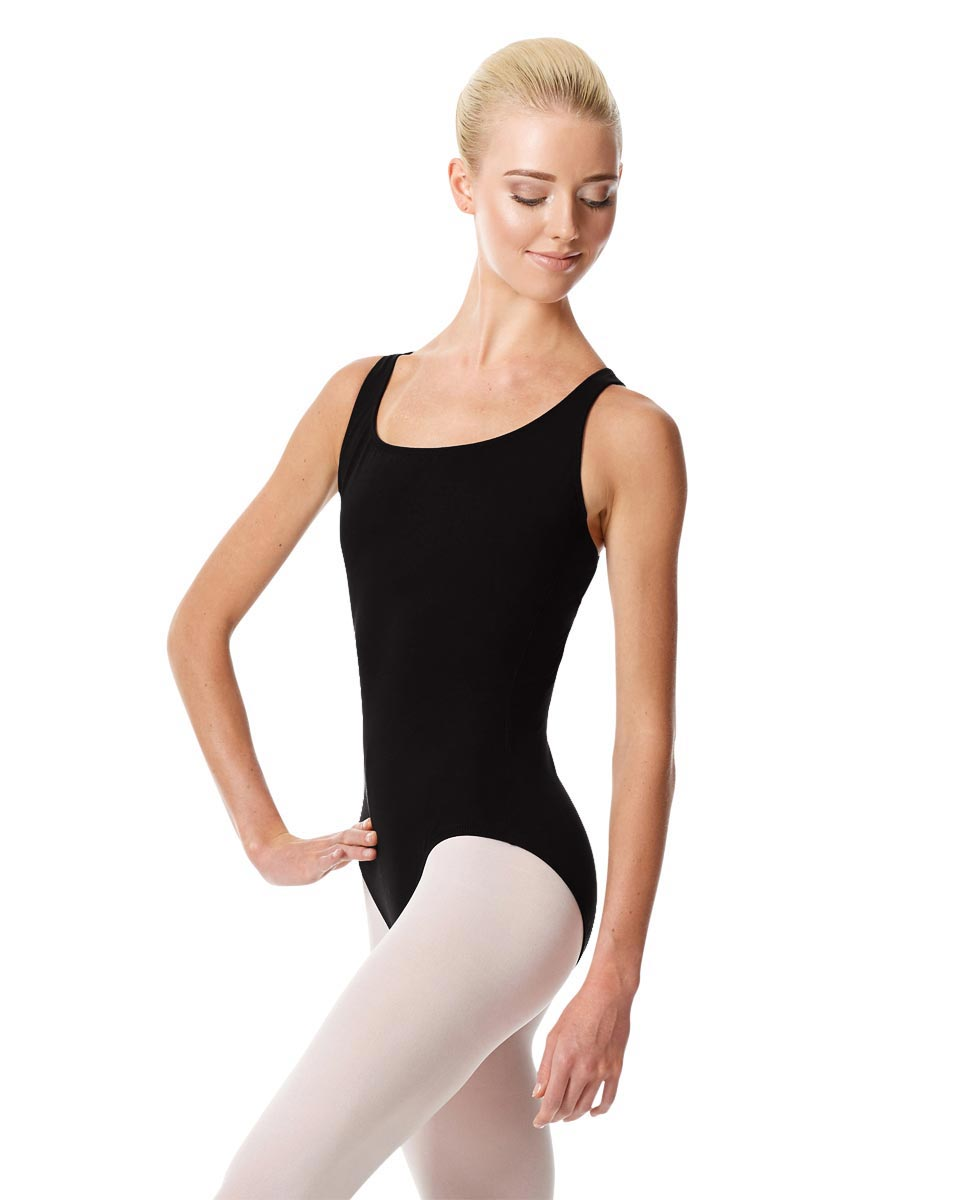 Strappy Back Dance Leotard Theresa BLK
