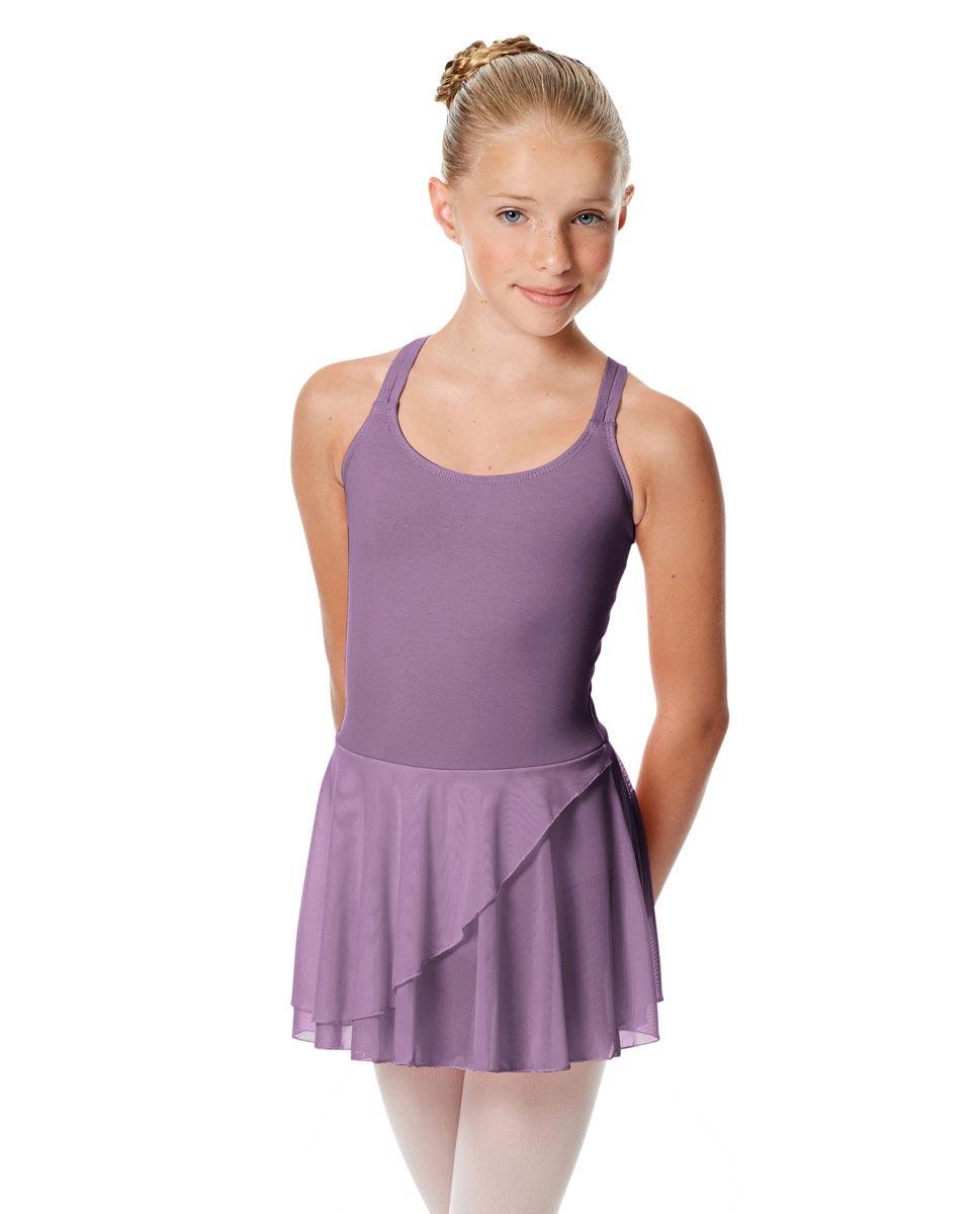 Child Strappy Skirted Ballet Leotard Linda LAV