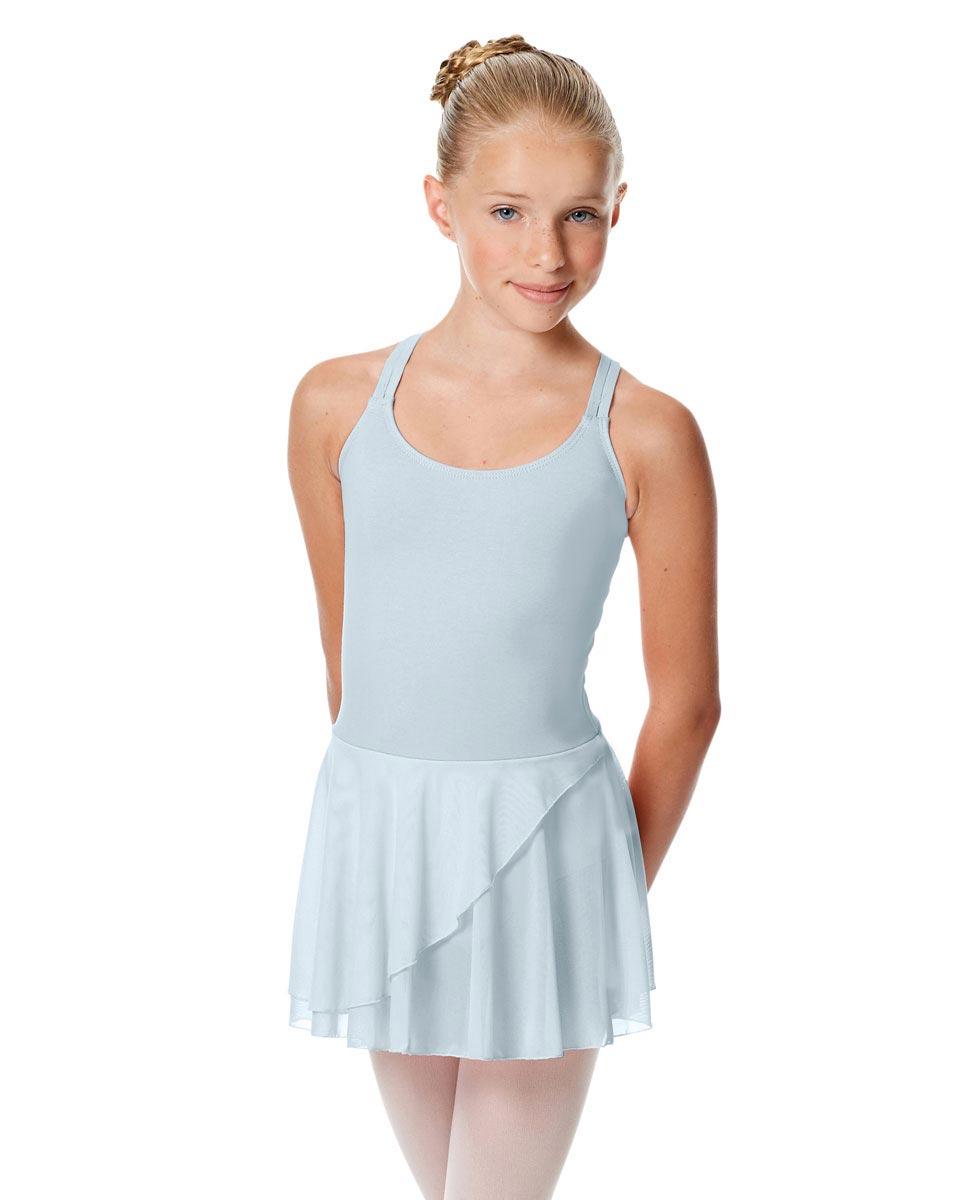 Child Strappy Skirted Ballet Leotard Linda SKY