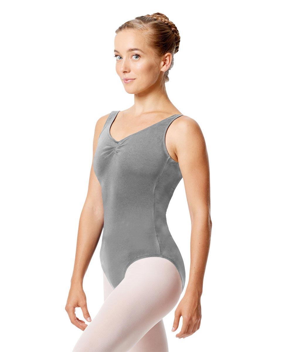 Womens Pinch Tank Ballet Leotard Shirley GRE