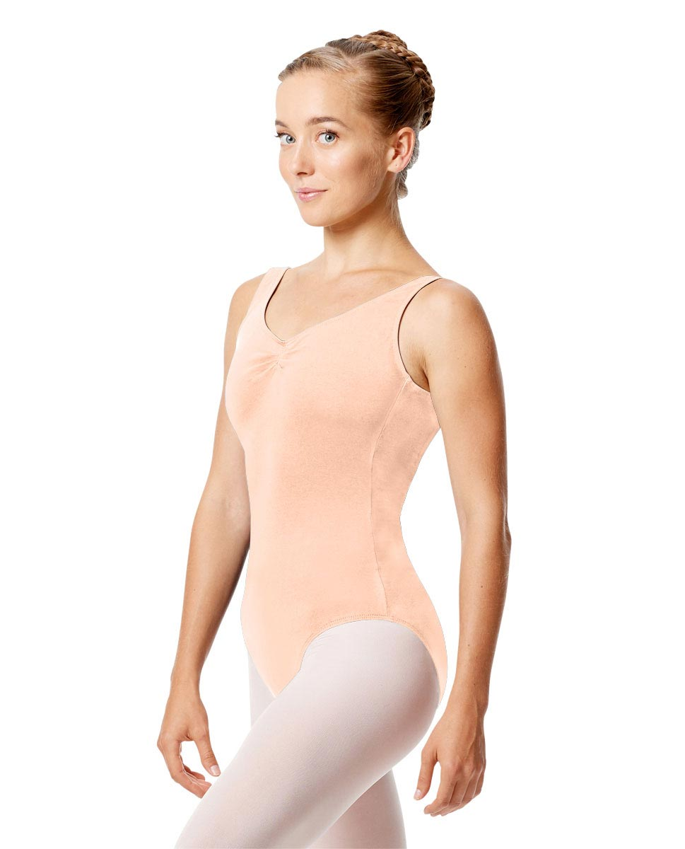Womens Pinch Tank Ballet Leotard Shirley LNUD