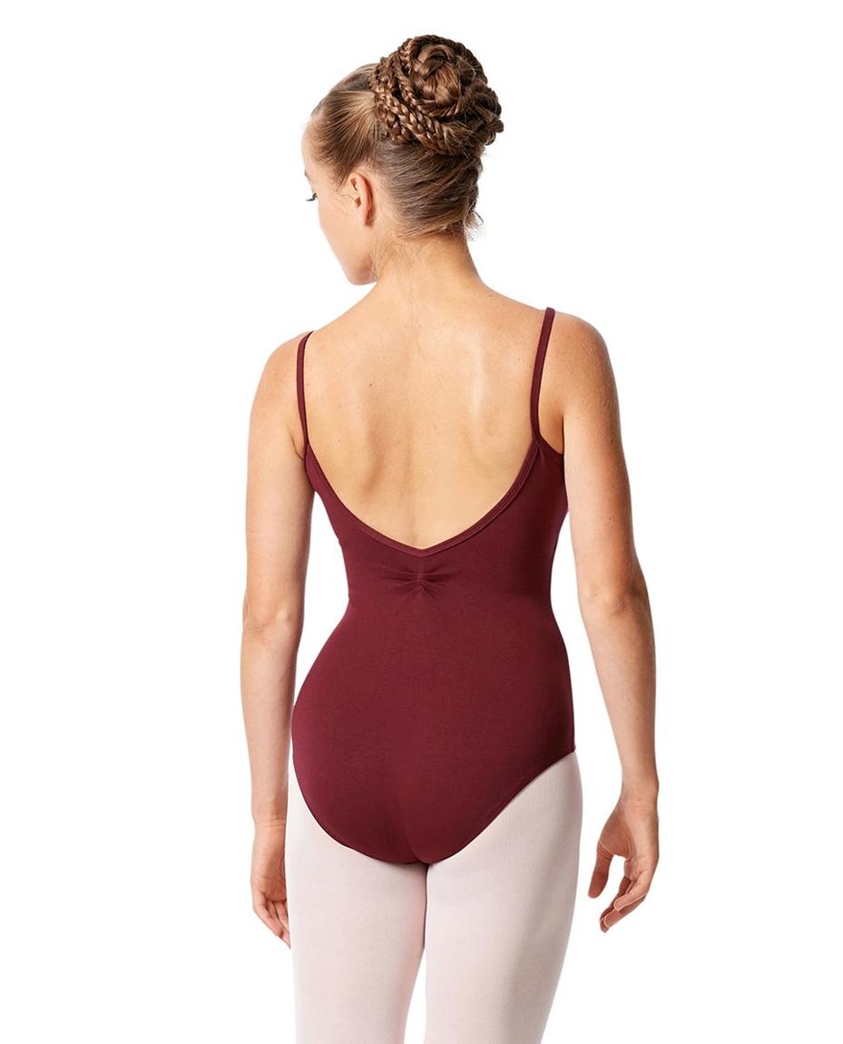 Womens Pinch Camisole Ballet Leotard Faina back-womens-pinch-camisole-ballet-leotard-faina