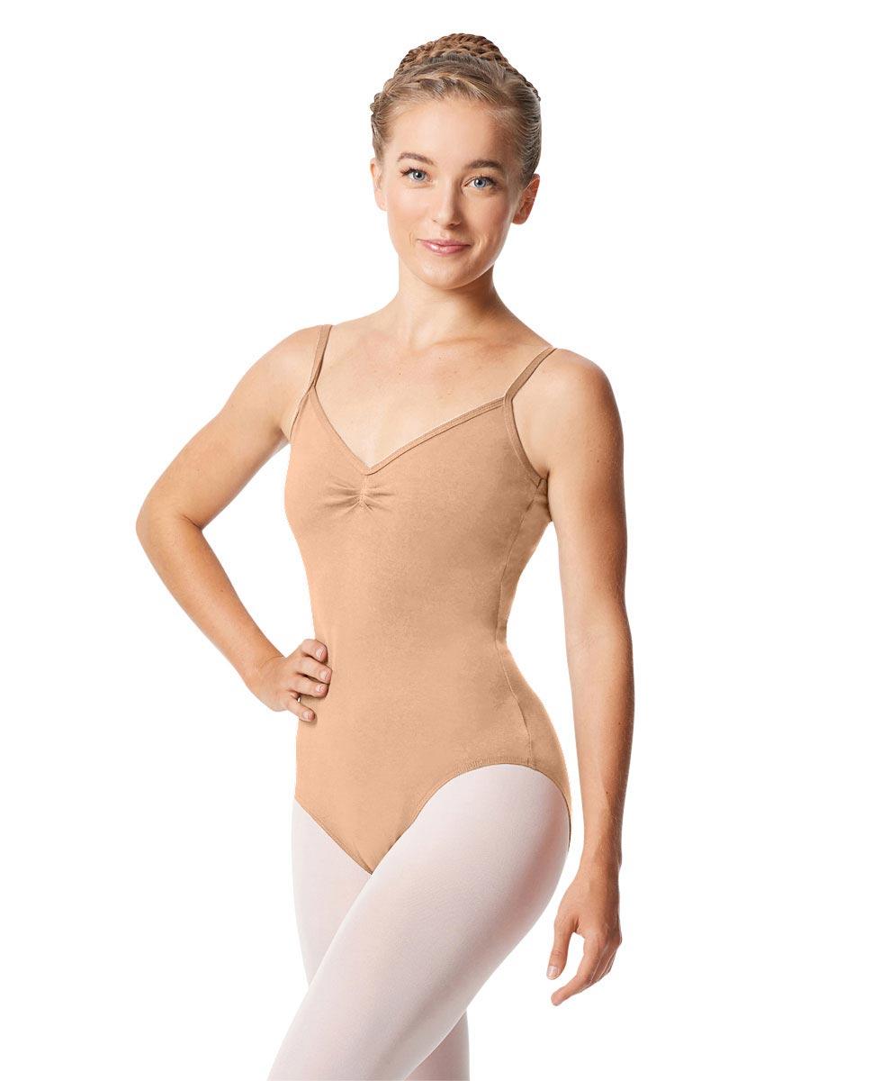 Womens Pinch Camisole Ballet Leotard Faina DNUD