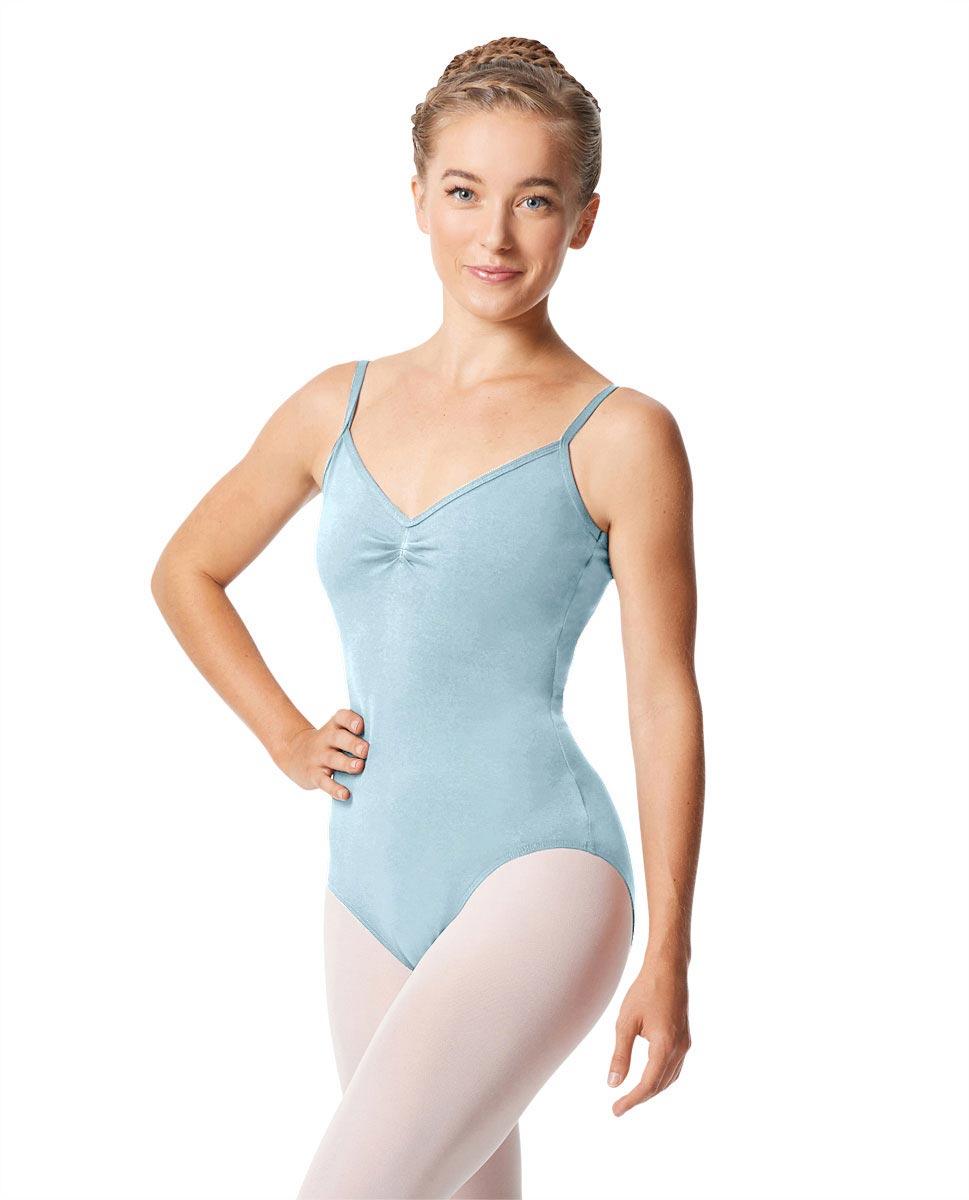 Womens Pinch Camisole Ballet Leotard Faina SKY