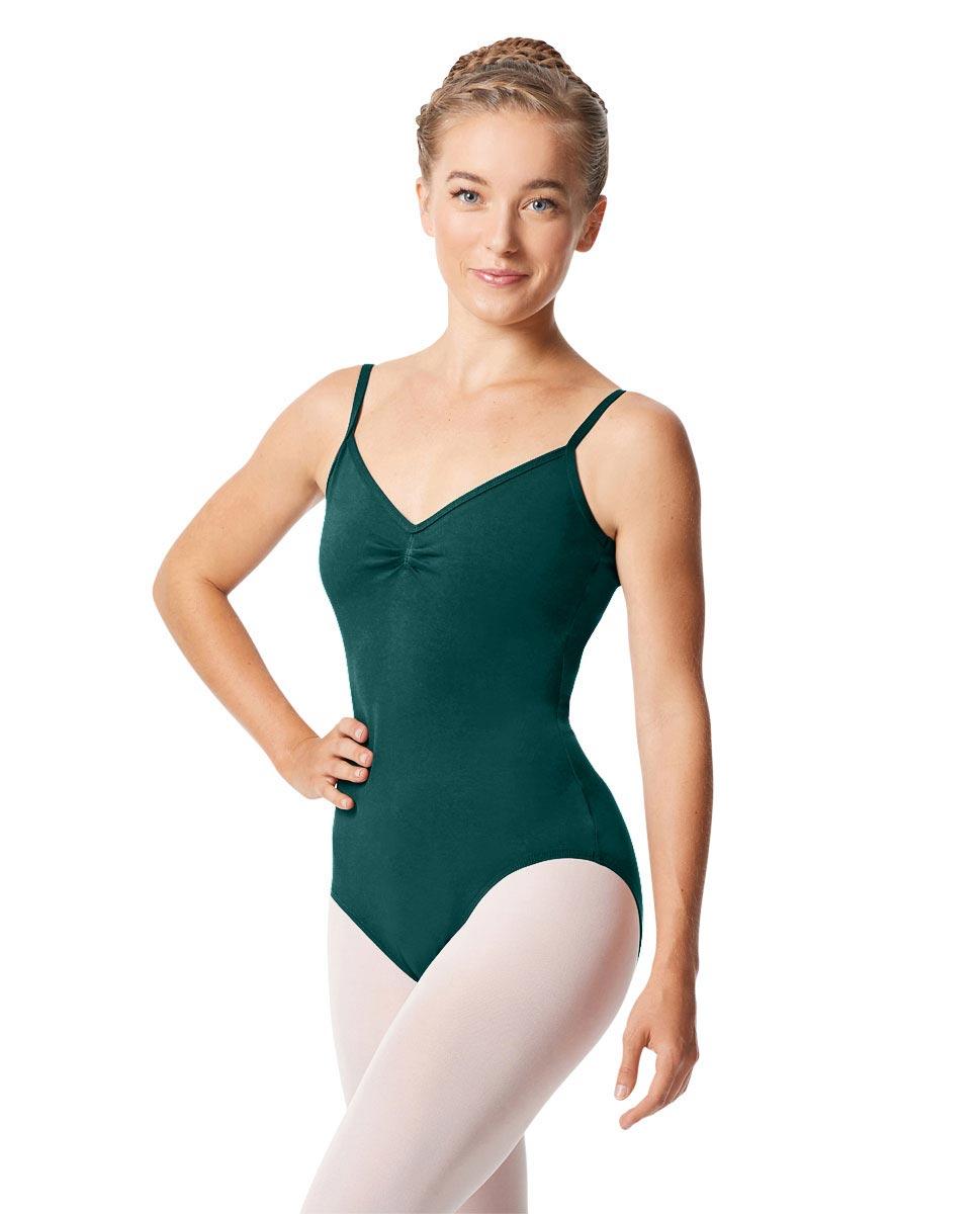 Womens Pinch Camisole Ballet Leotard Faina TEA