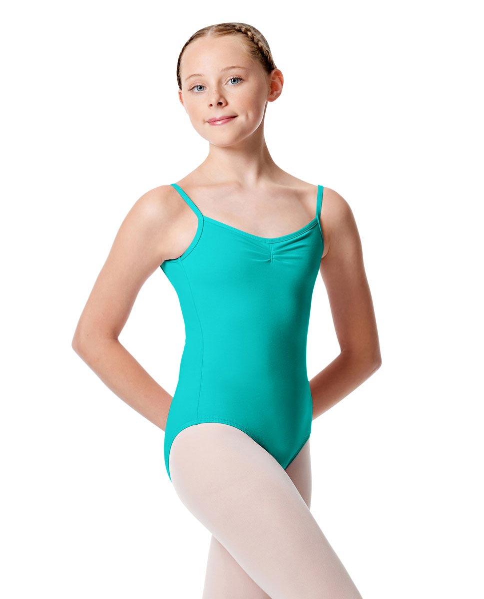 Child Pinch Camisole Ballet Leotard Faina ABLU