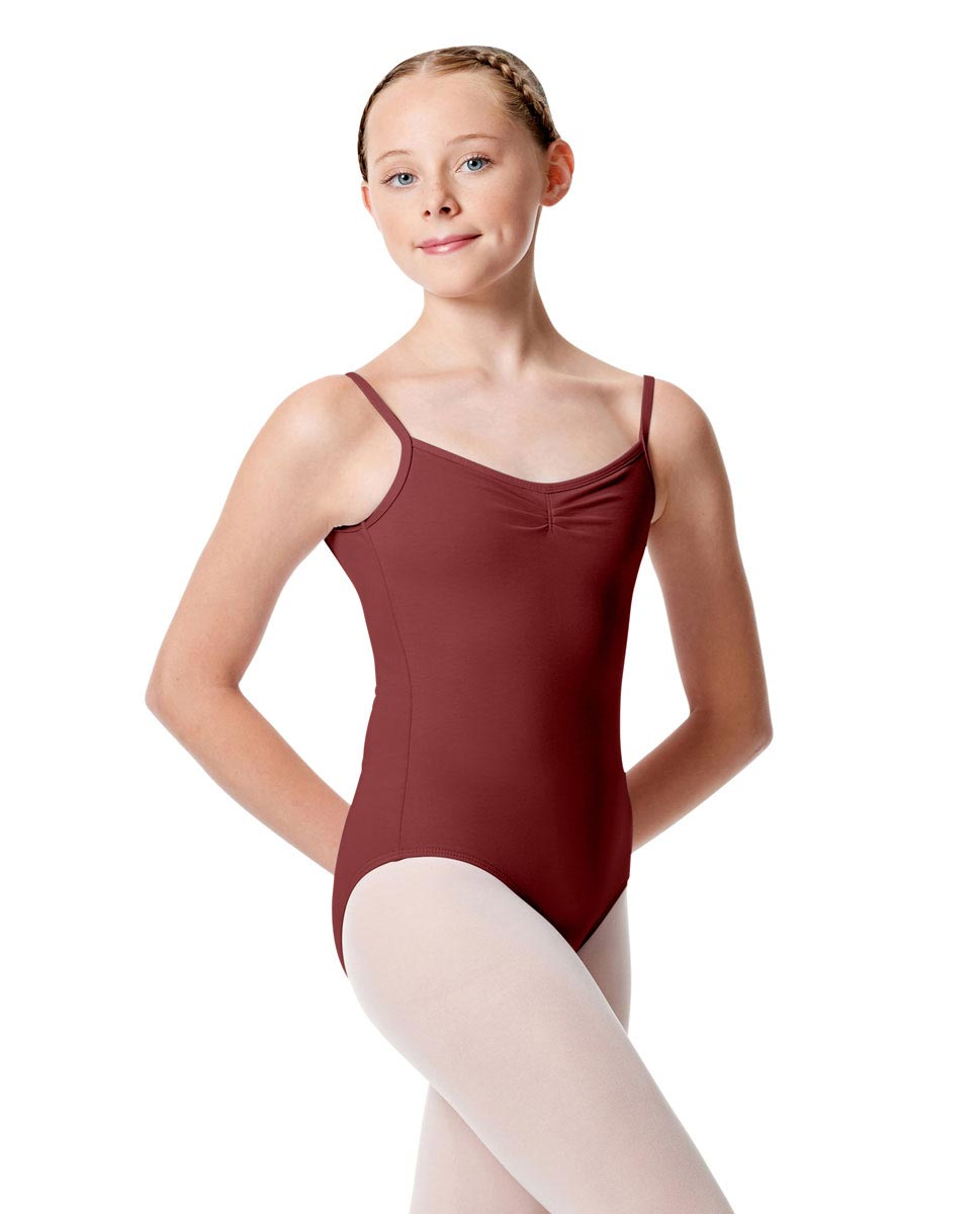 Child Pinch Camisole Ballet Leotard Faina BUR