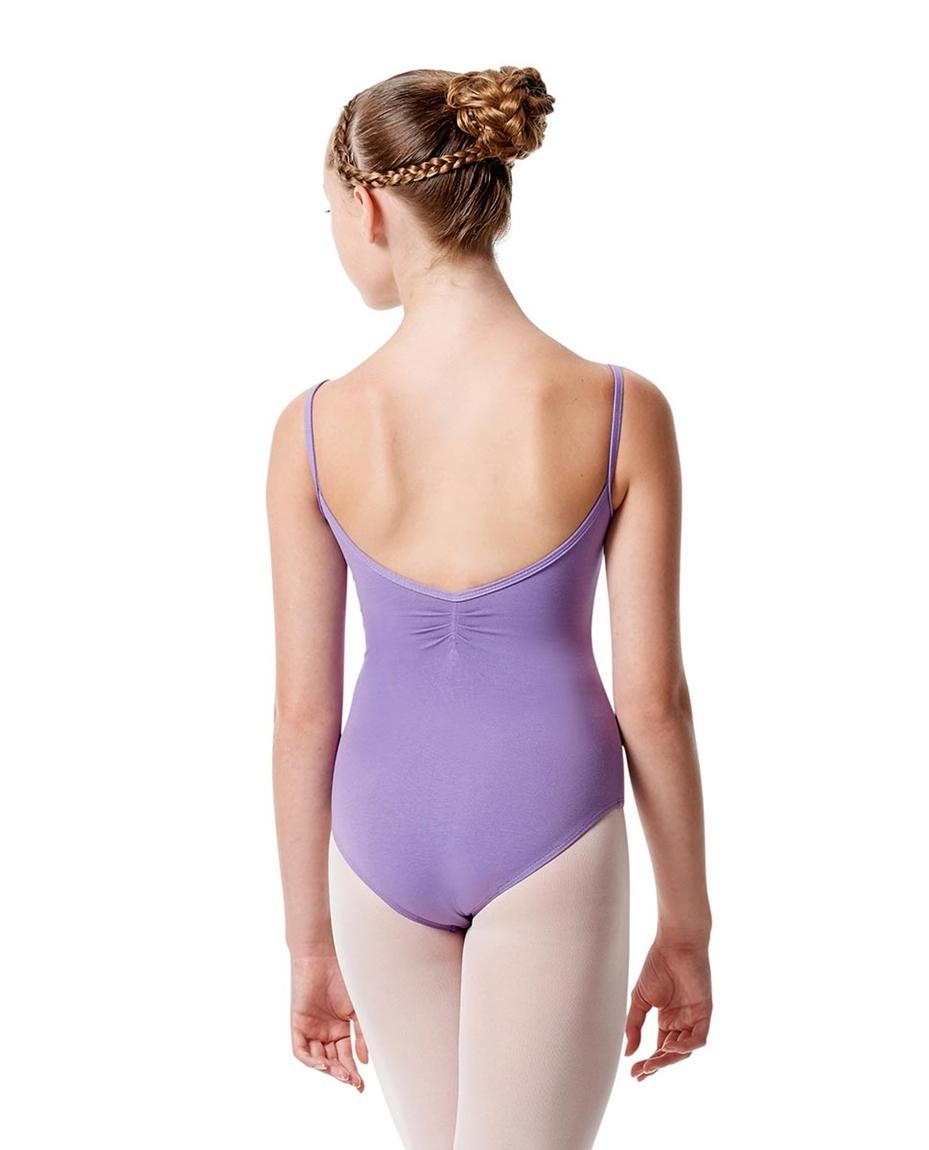 Child Pinch Camisole Ballet Leotard Faina back-child-pinch-camisole-ballet-leotard-faina