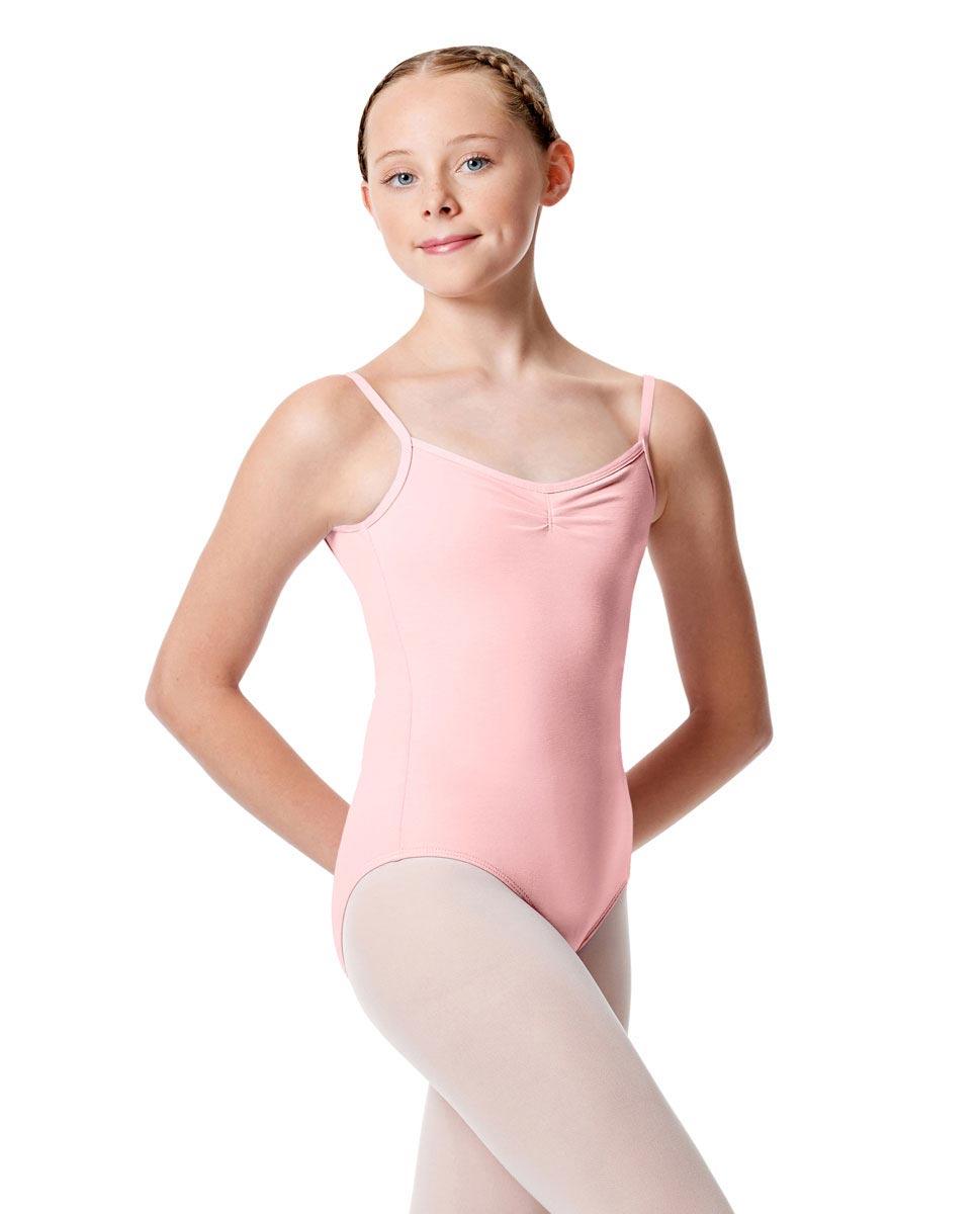 Child Pinch Camisole Ballet Leotard Faina PNK