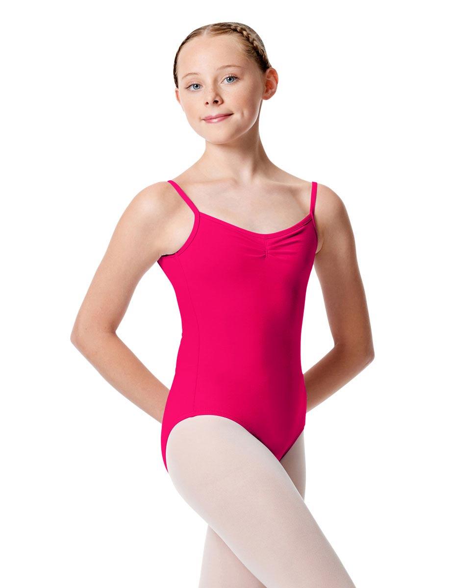 Child Pinch Camisole Ballet Leotard Faina RAS