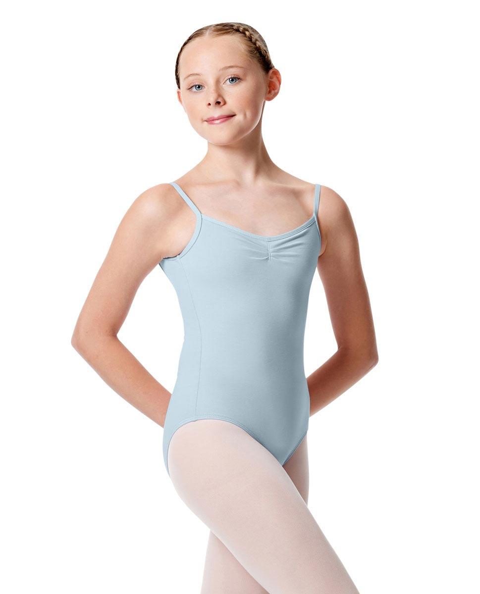 Child Pinch Camisole Ballet Leotard Faina SKY