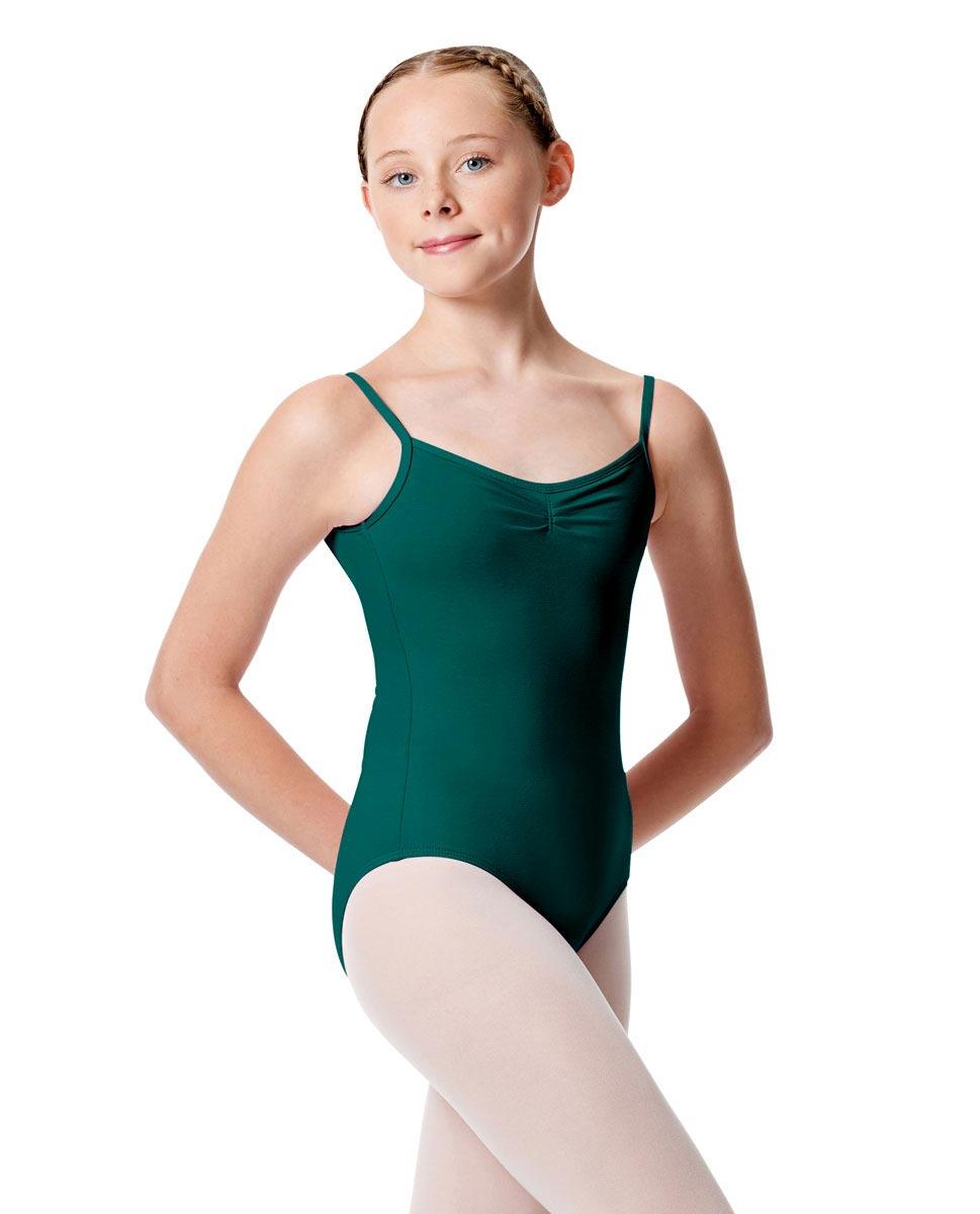 Child Pinch Camisole Ballet Leotard Faina TEA