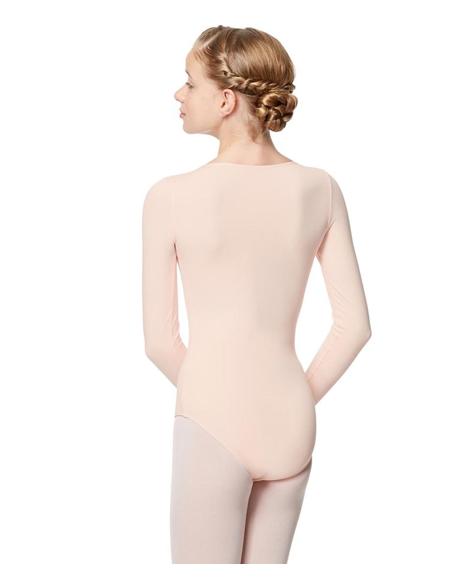 Long Sleeved Girl Leotard 2-long-sleeved-dance-leotard-for-girls