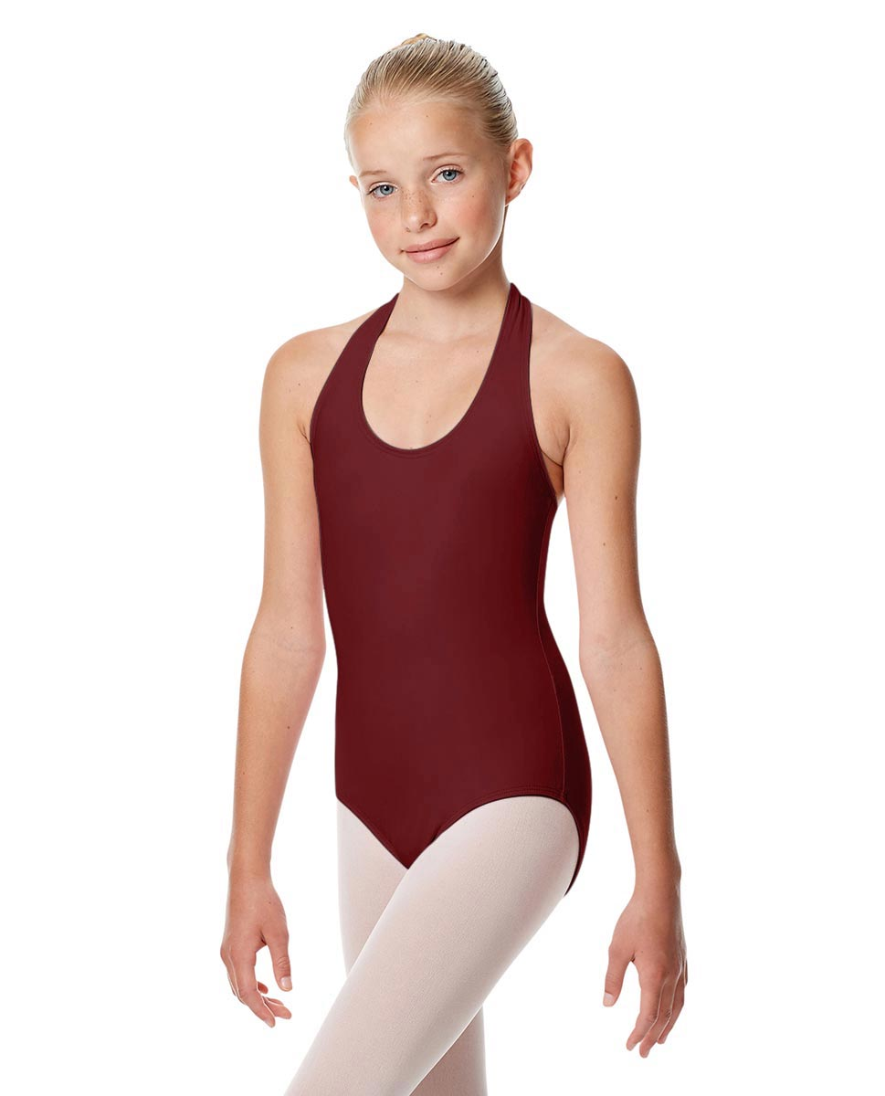 Child Halter Neck Dance Leotard Tamara BUR