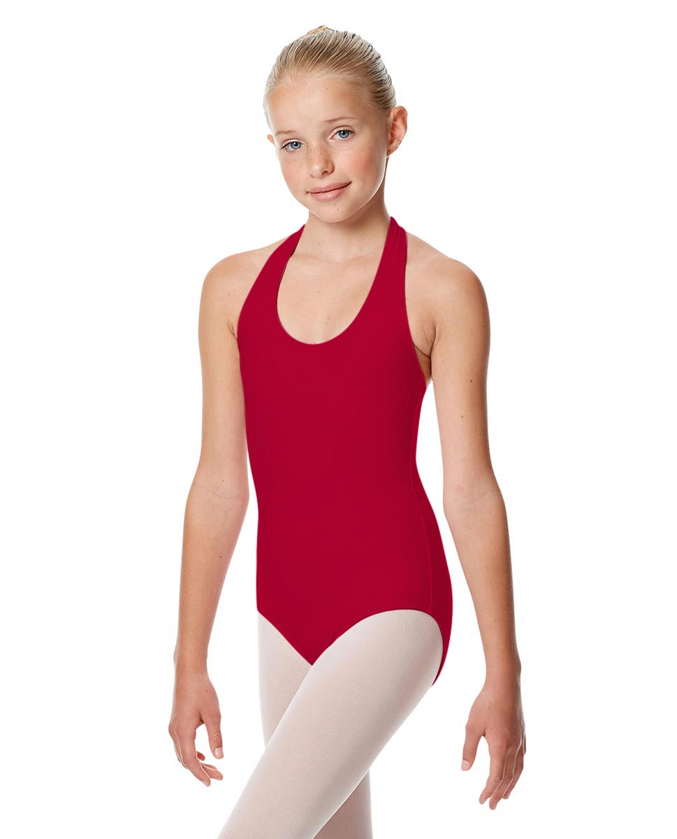 Child Halter Neck Dance Leotard Tamara DRED