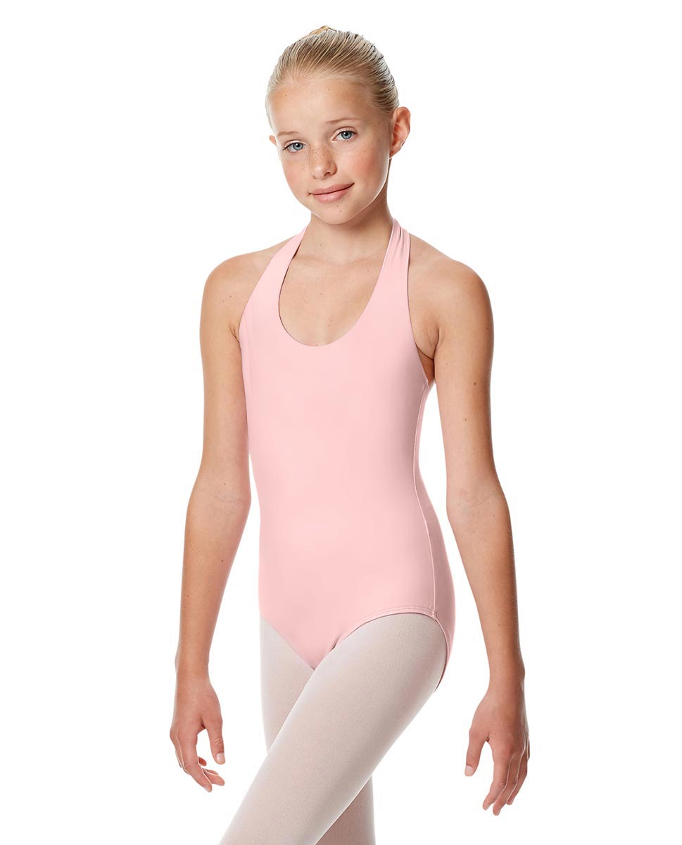 Child Halter Neck Dance Leotard Tamara PNK