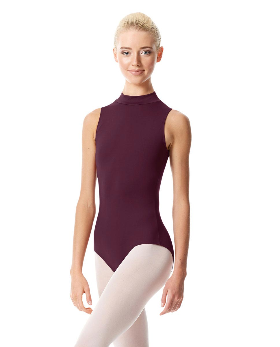 Womens Mock Neck Dance Leotard Belina AUB