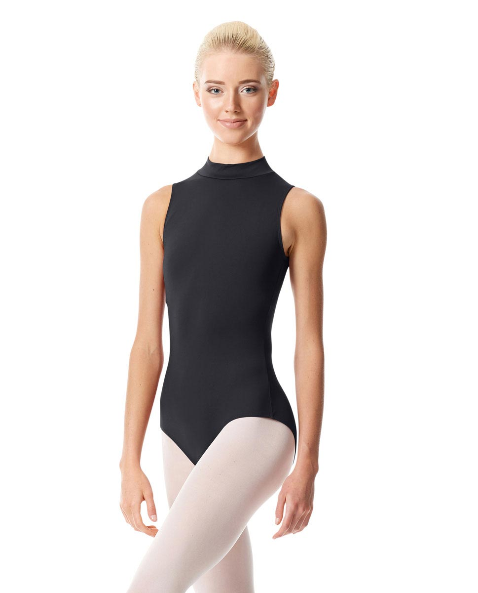 Womens Mock Neck Dance Leotard Belina DGRE