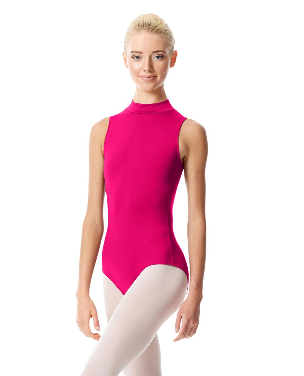 Womens Mock Neck Dance Leotard Belina RAS
