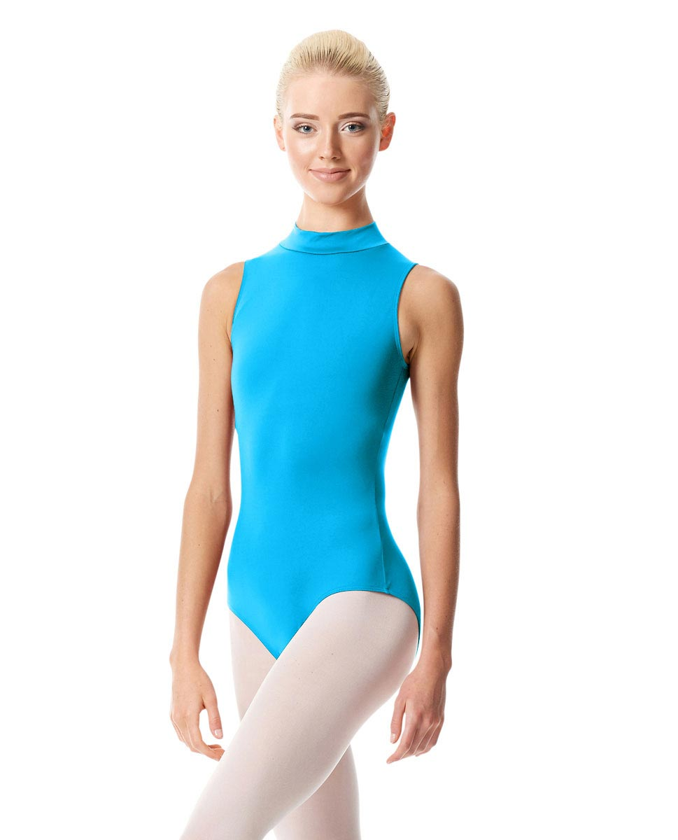 Womens Mock Neck Dance Leotard Belina TUR