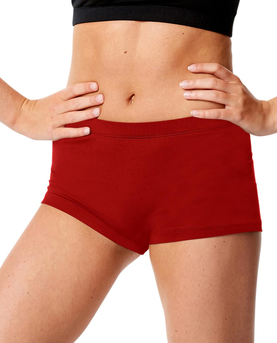 Adult Dance Hot Pants Lisette DRED