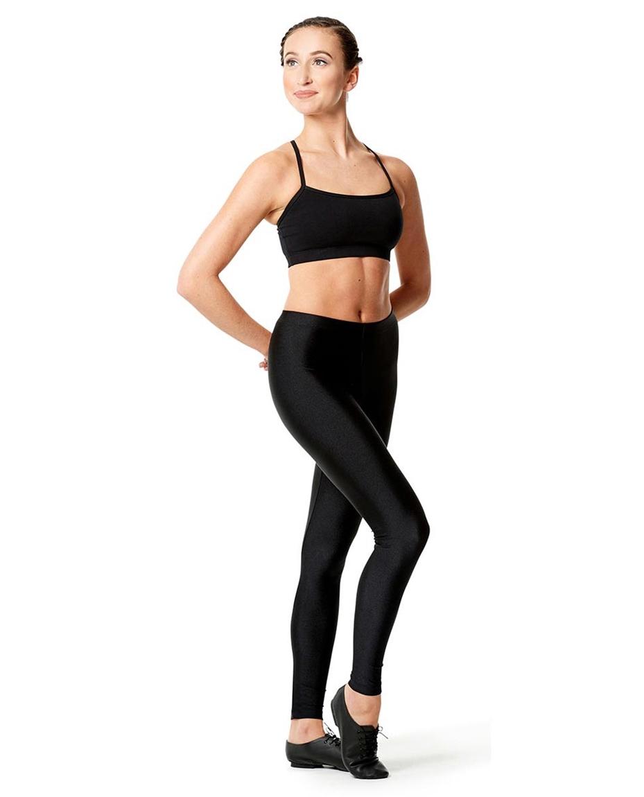 Adult Shiny Footless Dance Leggings Rafaella 2
