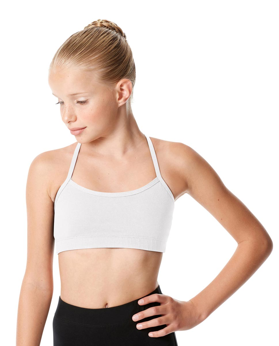 Child X Back Dance Bra Top Tatyana WHI