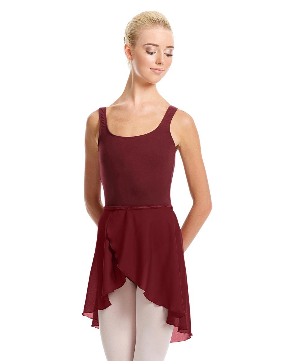 Womens Midi Wrap Ballet Skirt Felice BUR