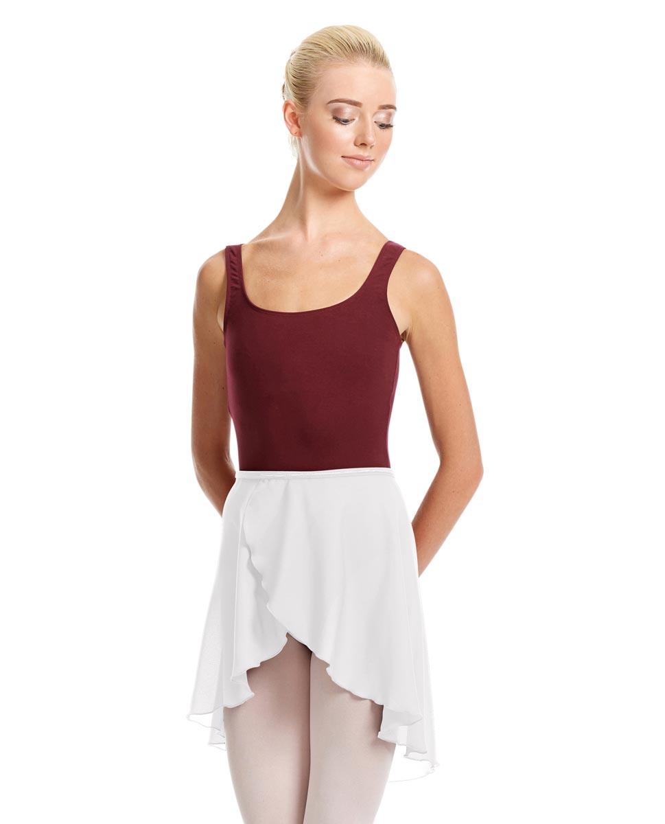 Womens Midi Wrap Ballet Skirt Felice WHI