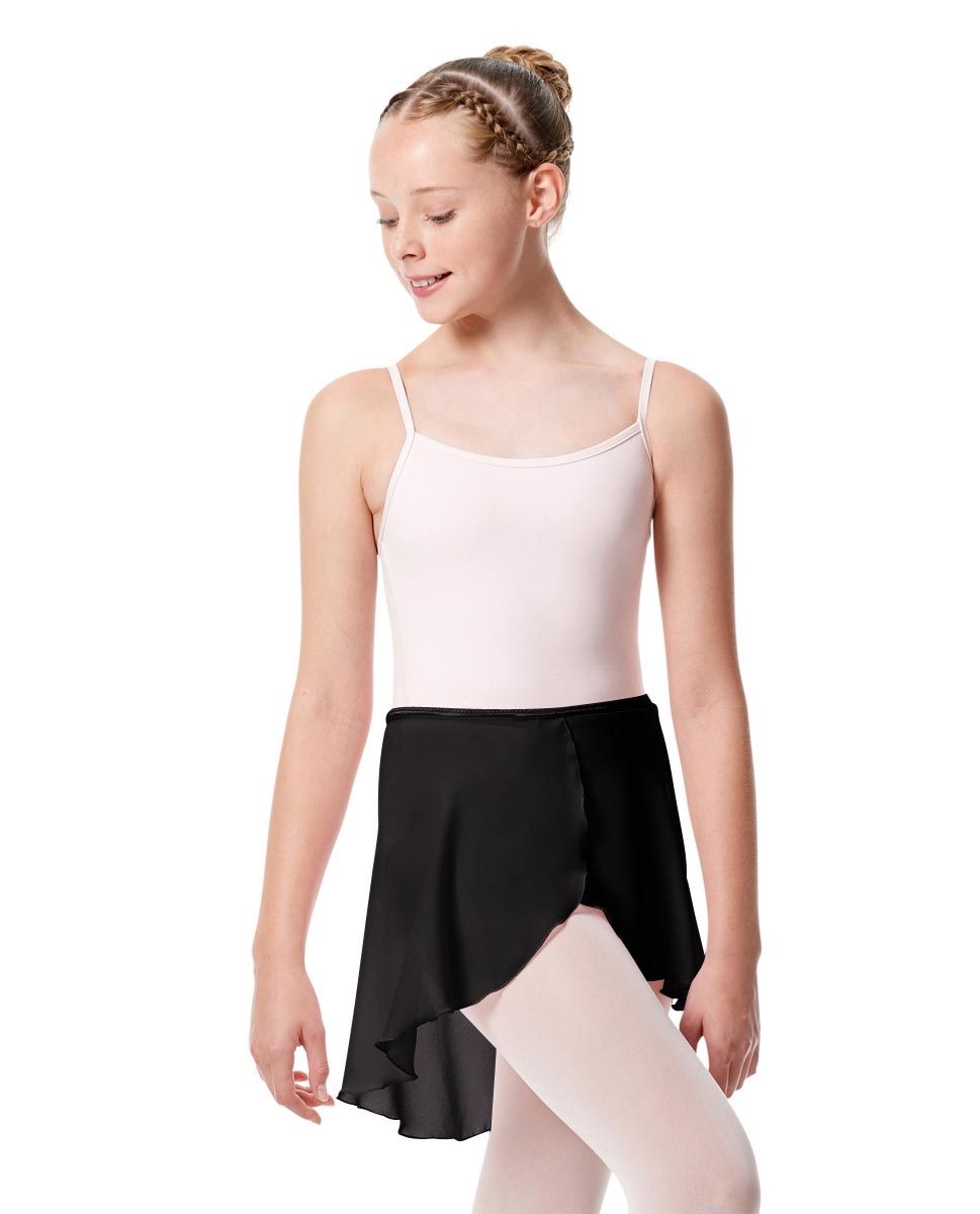 Girls Midi Wrap Ballet Skirt Felice BLK