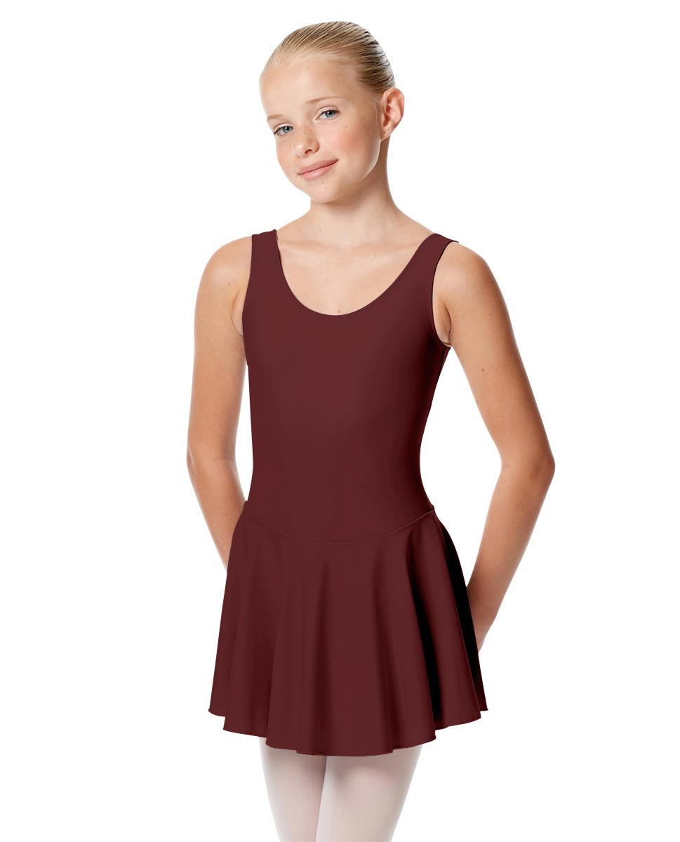 Child Skirted Ballet Tank Leotard Yasmin BUR