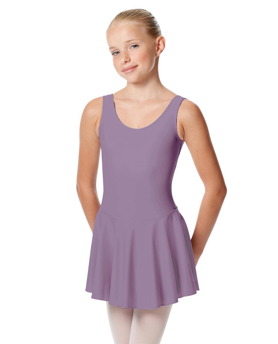 Child Skirted Ballet Tank Leotard Yasmin LAV