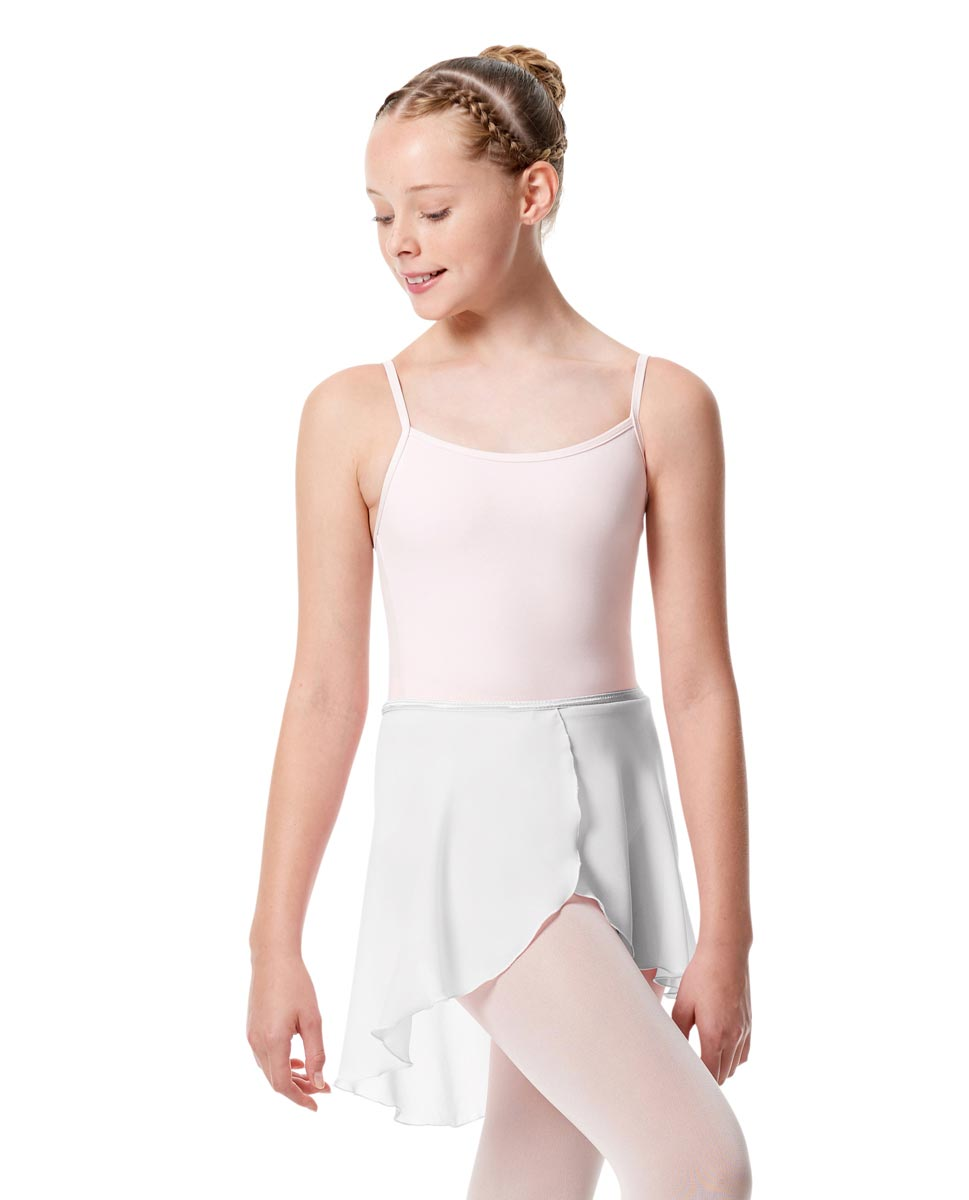 Girls Midi Wrap Ballet Skirt Felice WHI