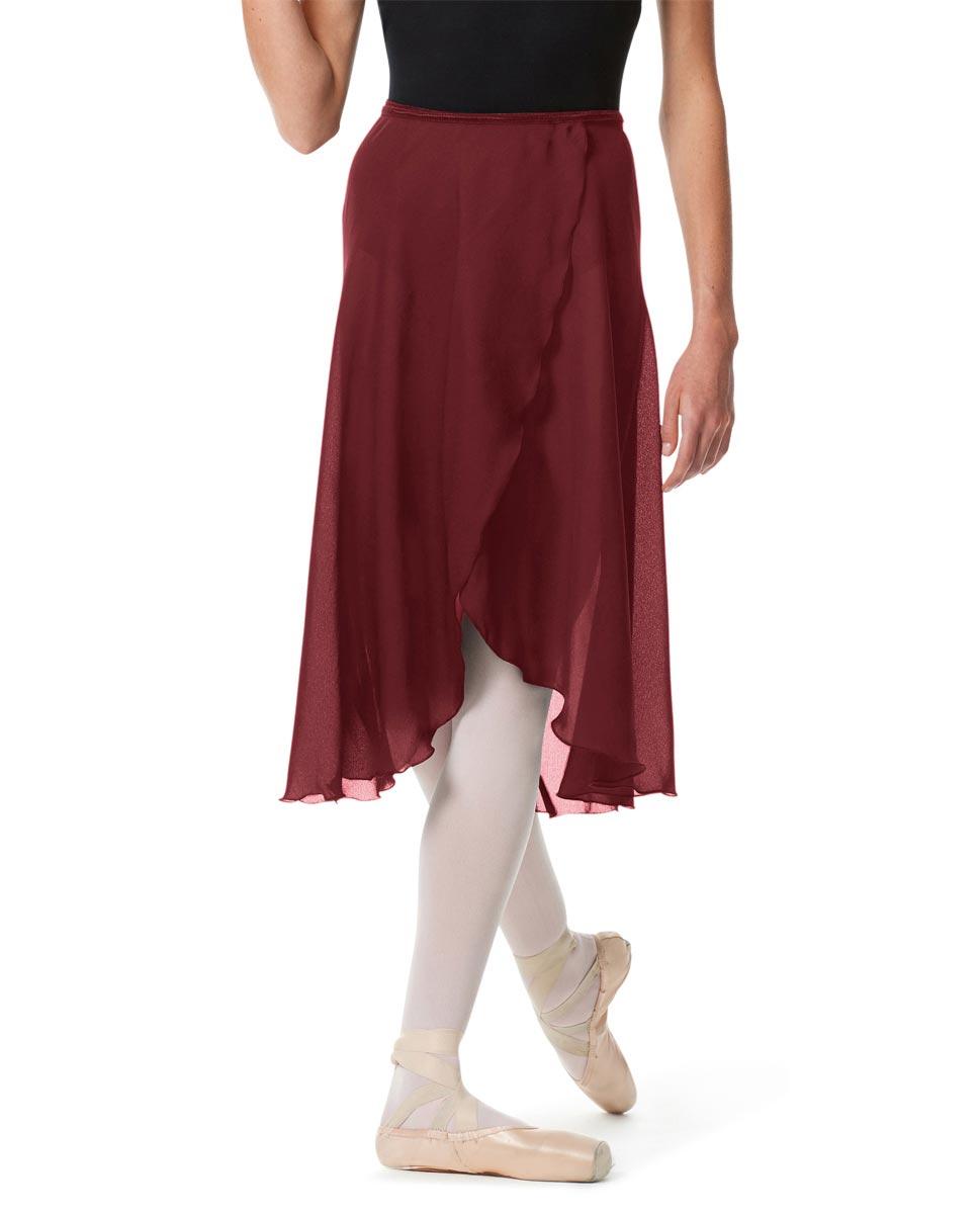 Womens Long Ballet Skirt Renee BUR