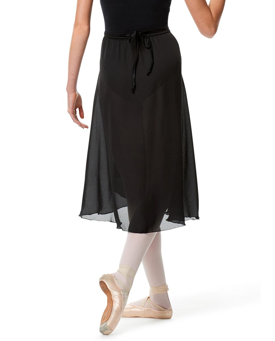 Womens Long Ballet Skirt Renee back-womens-long-ballet-skirt-renee