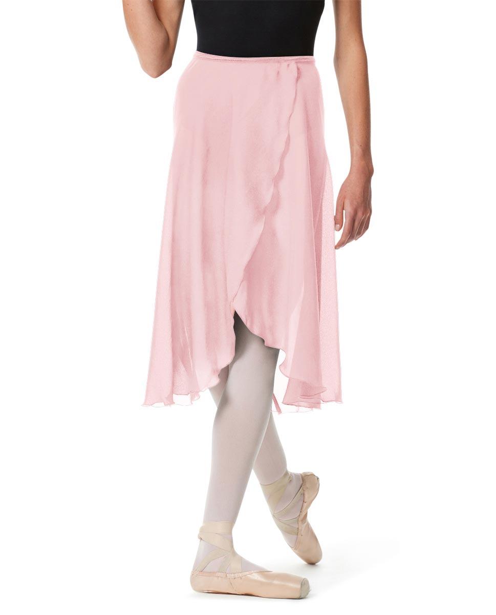 Womens Long Ballet Skirt Renee PNK