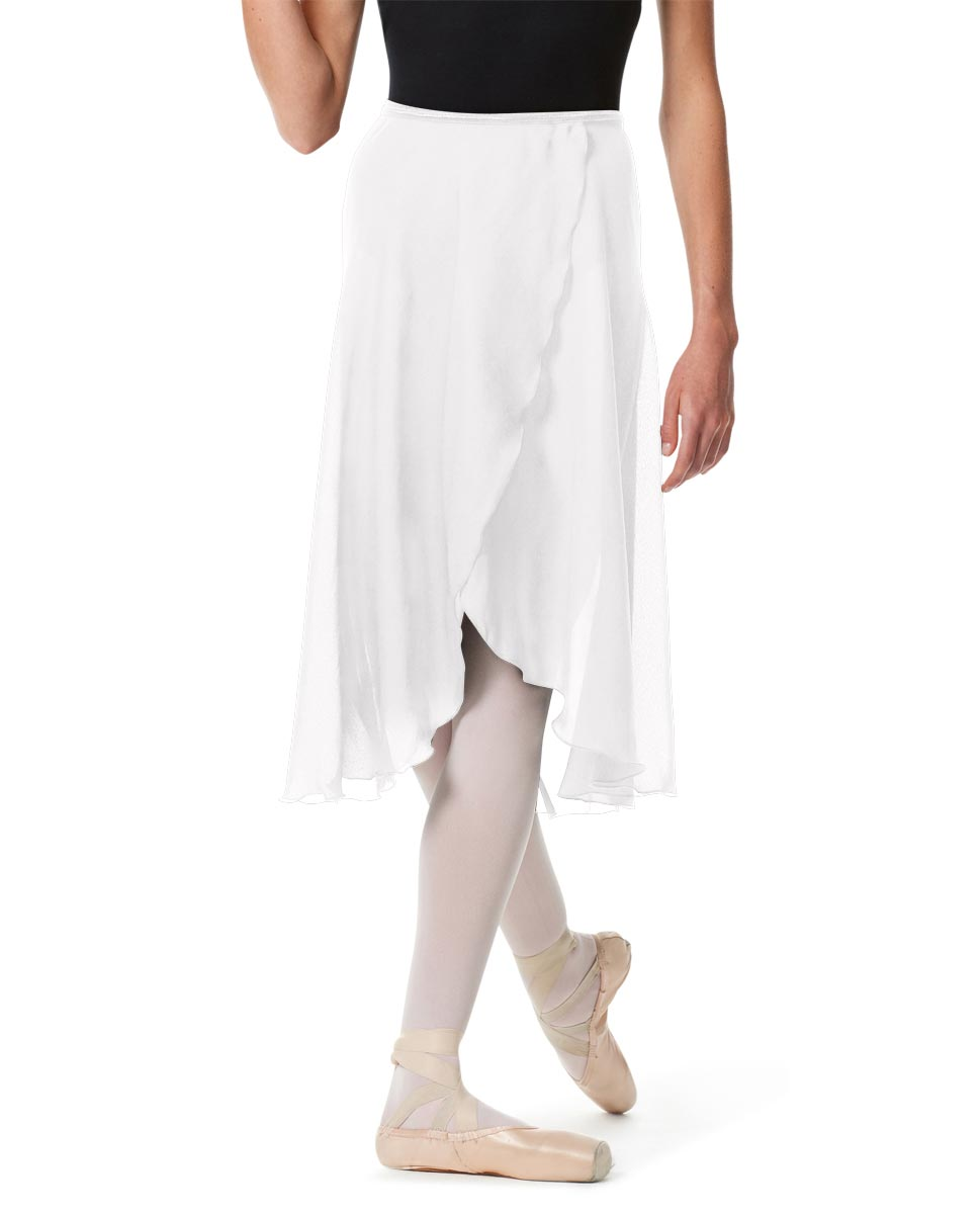 Womens Long Ballet Skirt Renee WHI