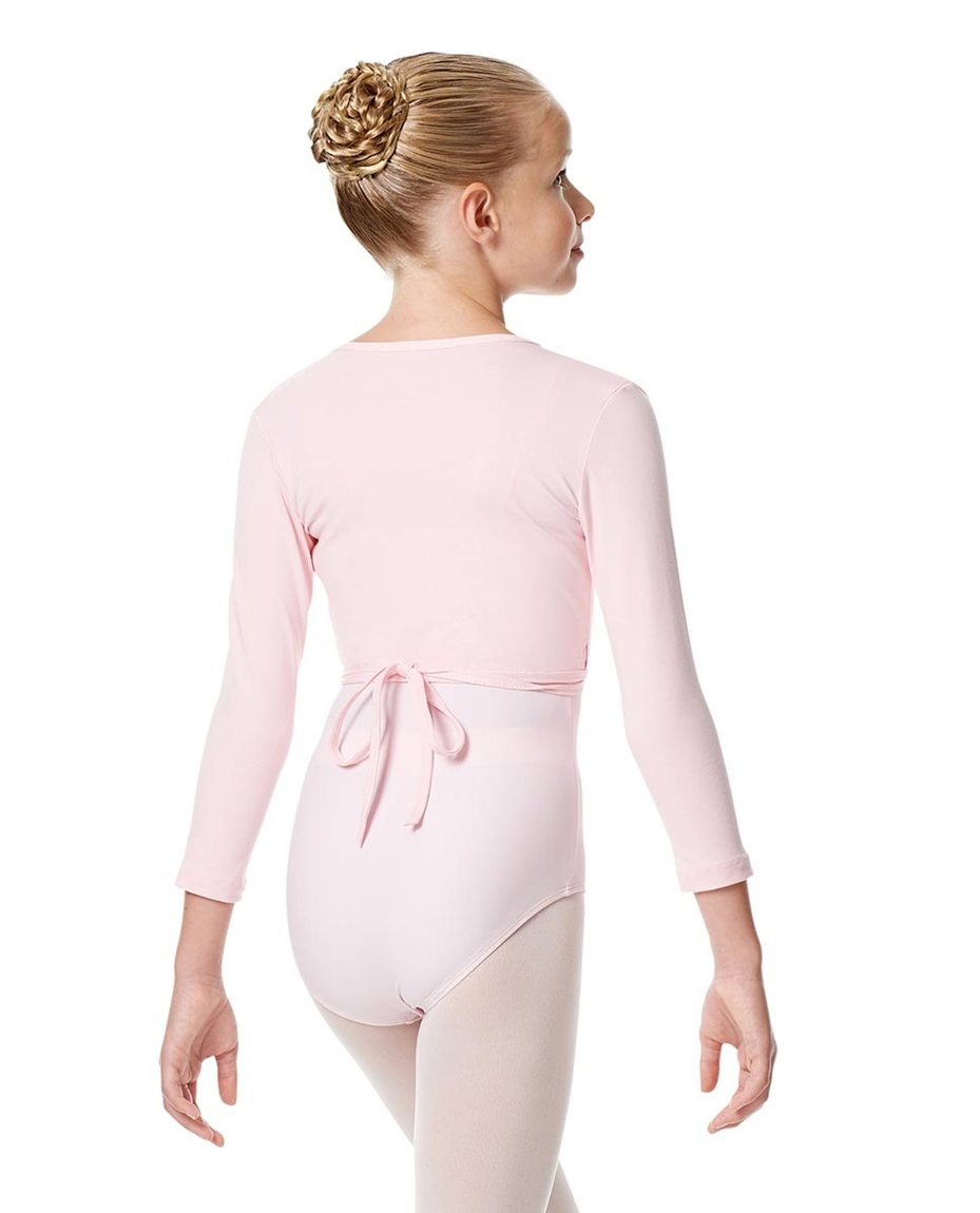 Girls Ballet Warm Ups Wrap Top Regina back-girls-ballet-warm-ups-wrap-top-regina