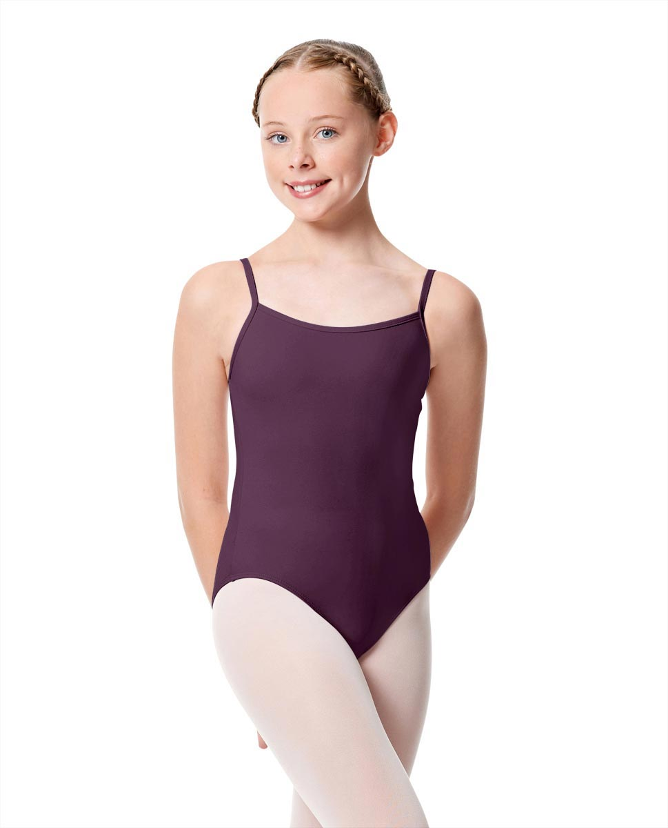 Girls Camisole Dance Matte Leotard Oriane AUB