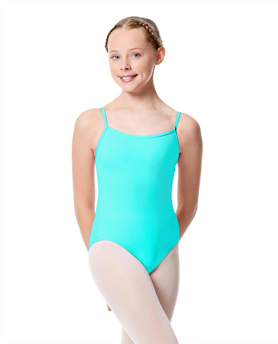 Girls Camisole Dance Matte Leotard Oriane CYB