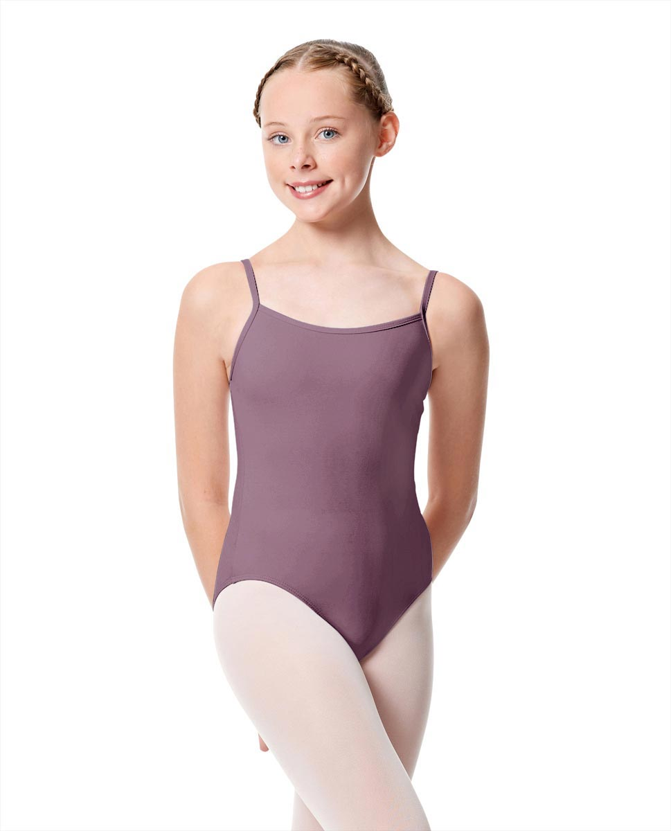 Girls Camisole Dance Matte Leotard Oriane LAV