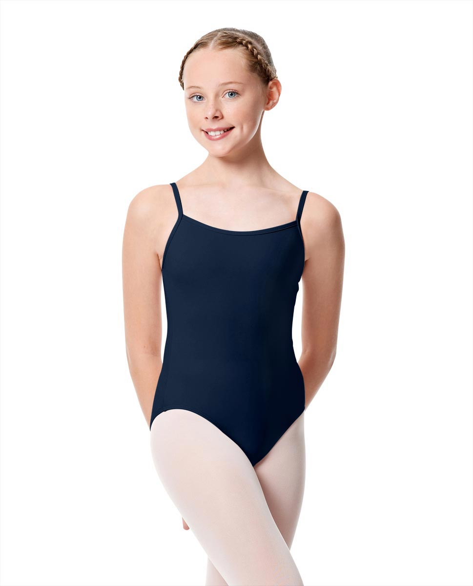 Girls Camisole Dance Matte Leotard Oriane NAY