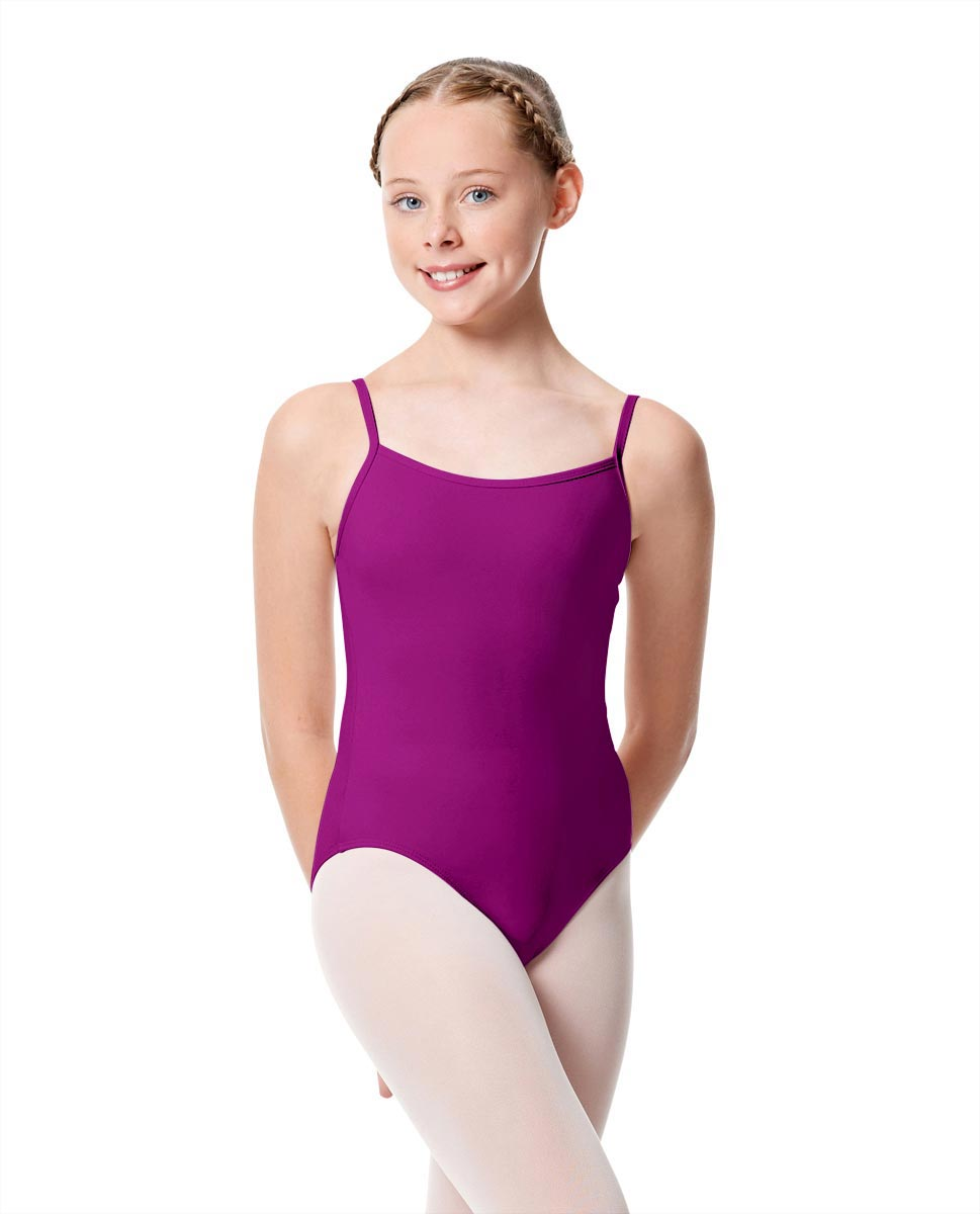 Girls Camisole Dance Matte Leotard Oriane MAG