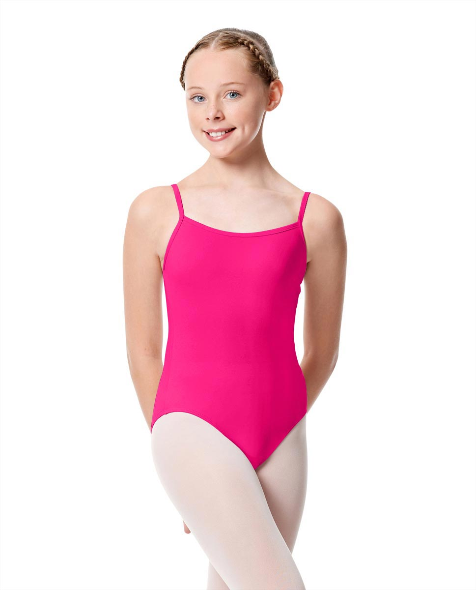 Girls Camisole Dance Matte Leotard Oriane MUL