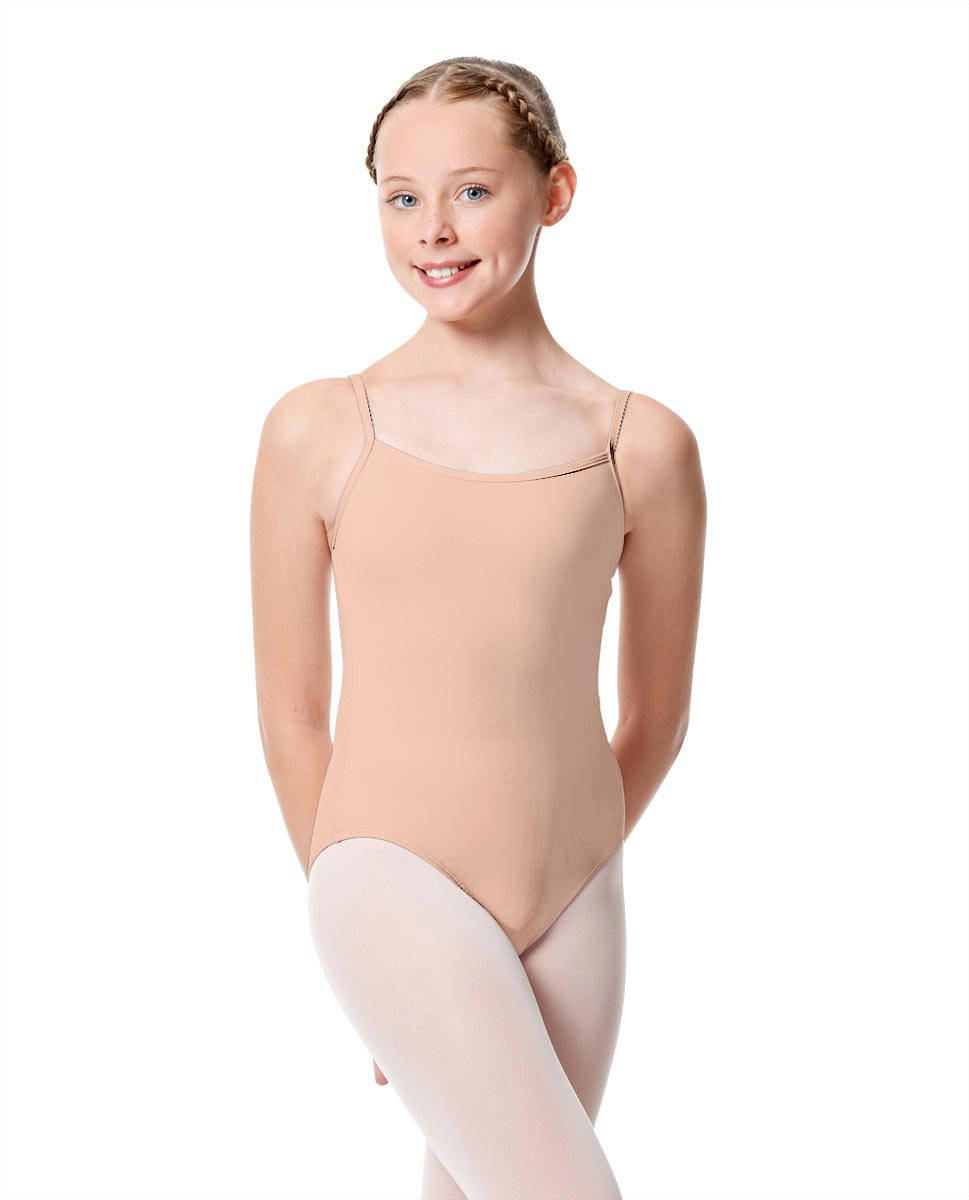Girls Camisole Dance Matte Leotard Oriane NUD