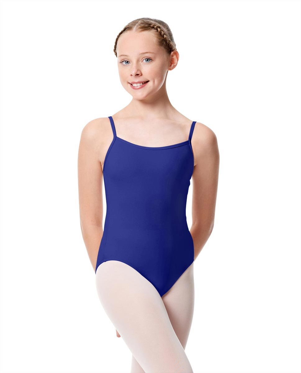 Girls Camisole Dance Matte Leotard Oriane ROY
